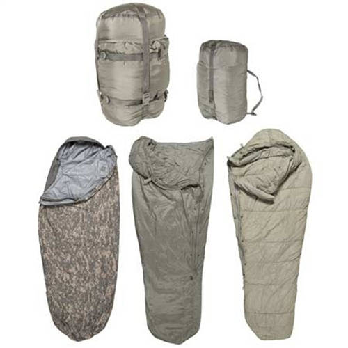 Improved Modular Sleeping Bag System 5 Piece Complete