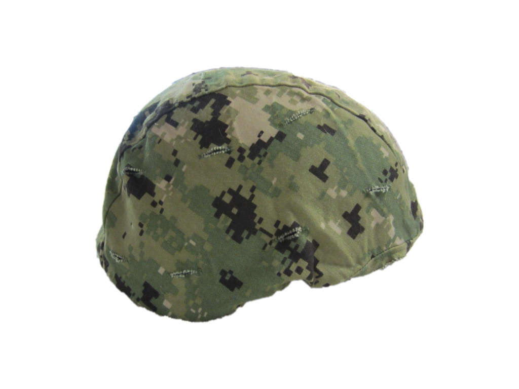 Advanced Combat Helmet Cover - Woodland Digital USN-Navy Seal Type III