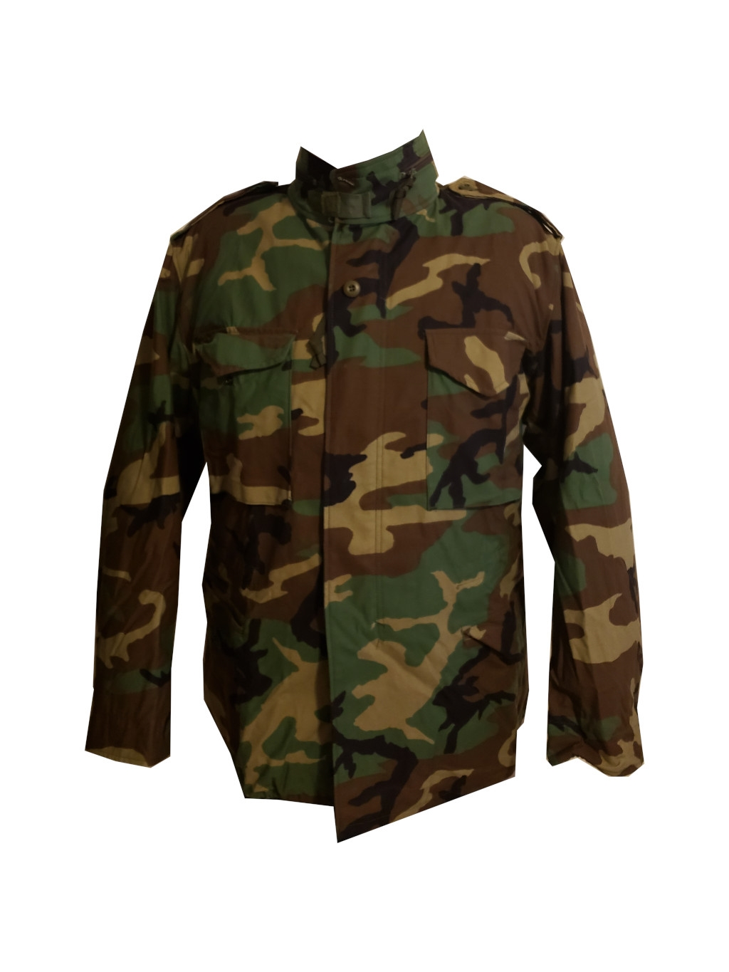 Cold Weather Field Jacket - BDU - Woodland