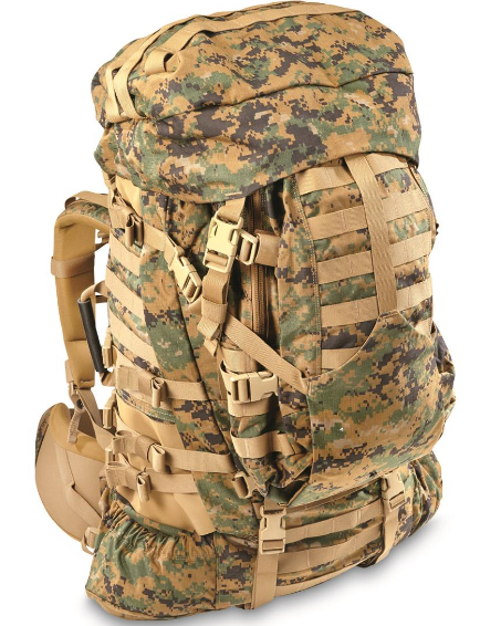 GEN II USMC Complete ILBE System, Large Pack, Assault Pack, Hydration System