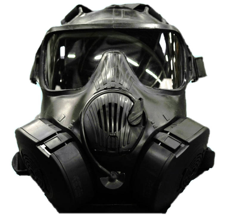 AVON M50 Gas Mask U.S. Military