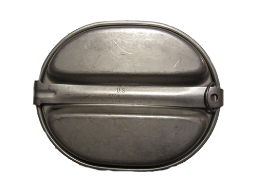 US Military Aluminum Mess Kit