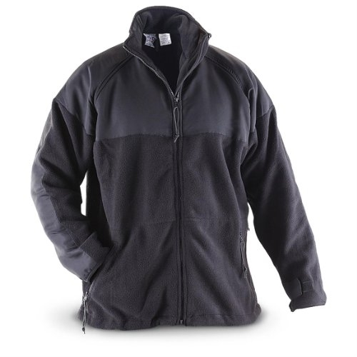 Polartec Fleece Parka - Black