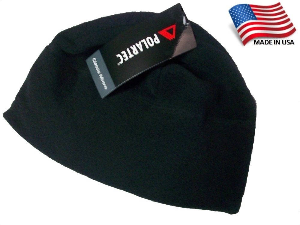 USGI Polartec Micro Fleece Cap - Black