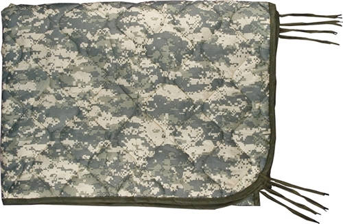 ACU Digital (Universal Camo) Wet Weather Poncho Liner