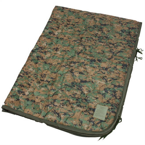 U.S. Marine Wet Weather Marpat Poncho Liner