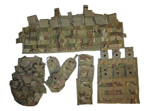 TAP Tactical Assault Panel with Accessory Pouches - Multi Cam/OCP