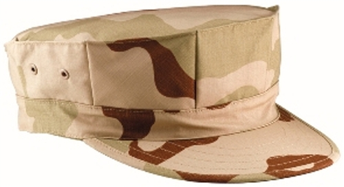 8 Point Fatigue Desert Utility Cap