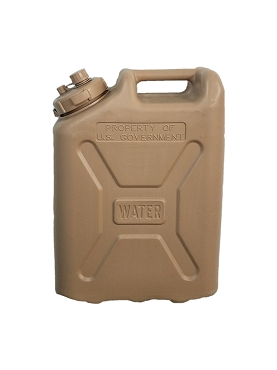 US Military 20 Liter Water Container