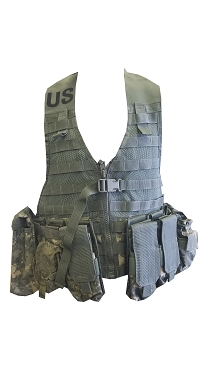 ACU Load Carrier (FLC) Vest with Pouches
